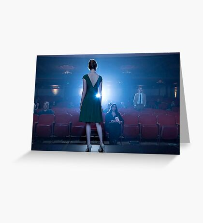 La la land cinema Greeting Card