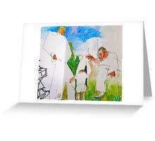 among giants Greeting Card