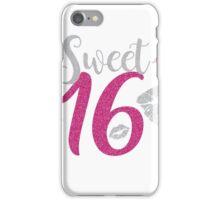 Birthday Sixteen iPhone Case/Skin