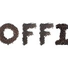 Koffie (Dutch) word made out of coffee beans by stuwdamdorp