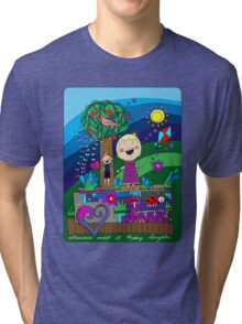 Memories sweet of happy laughter Tri-blend T-Shirt