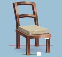 Glitch furniture chair chair coppermetal Baby Tee