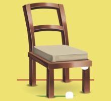 Glitch furniture chair chair coppermetal Kids Tee