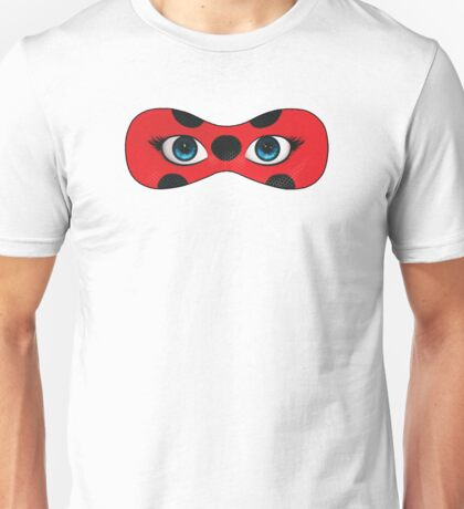 Ladybug mask Miraculous Unisex T-Shirt