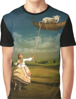 Lost sheep (Mary had a little lamb) Graphic T-Shirt