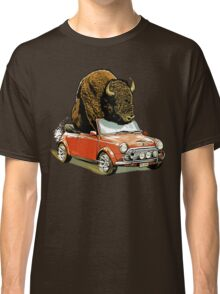 Bison in a Mini. Classic T-Shirt