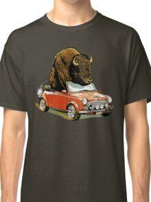 Bison in a Mini. Classic T-Shirt