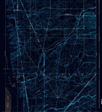 USGS TOPO Map California CA Arcade 295901 1911 31680 geo Inverted Sticker