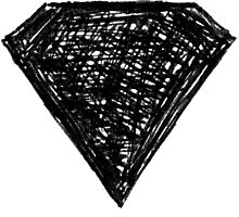 black diamond Photographic Print