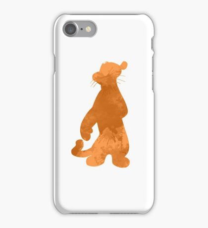Tiger Inspired Silhouette iPhone Case/Skin