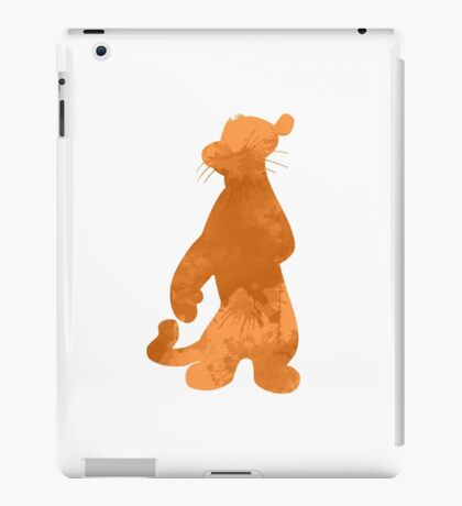 Tiger Inspired Silhouette iPad Case/Skin