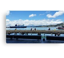 Wellington NZ port Canvas Print