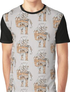 Rustic Robot Graphic T-Shirt