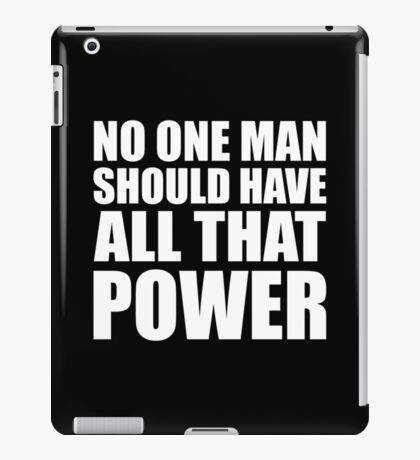 All That Power - Kanye West iPad Case/Skin