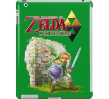 Zelda A Link Between Worlds iPad Case/Skin