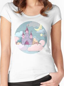 The Nursery Castle Women's Fitted Scoop T-Shirt