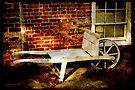 An Old Wheelbarrow, An Ancient House by SummerJade