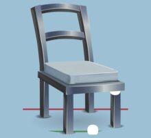 Glitch furniture chair chair steelmetal Kids Tee