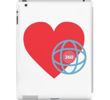 LOVE 360 iPad Case/Skin