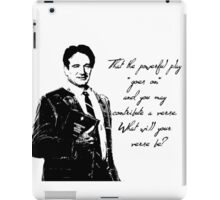 What will your verse be? iPad Case/Skin