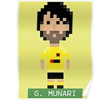 Pixel Hornets: G Munari Poster