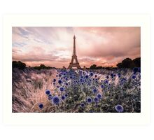 Eiffel Tower, Paris - France  Art Print