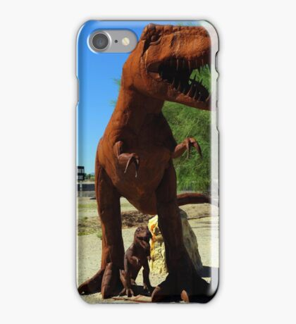 18T-RexMother&Baby iPhone Case/Skin