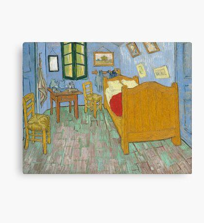Vincent Van Gogh - The Bedroom 1889 Canvas Print
