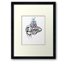 Gathering My Thoughts for the Night Framed Print