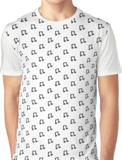 Music note made out of coffee beans Graphic T-Shirt
