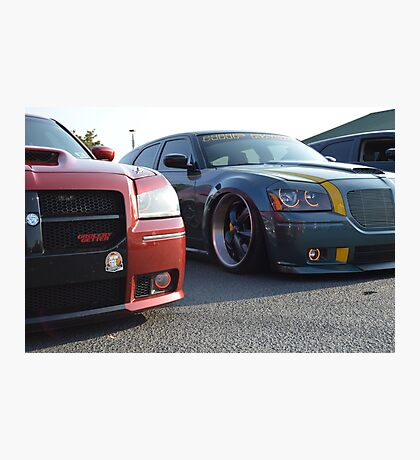 Grocery Getter & Speed Wagon Photographic Print