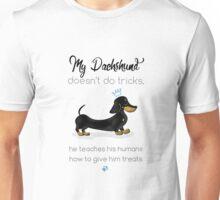 My Dachshund - Smooth Black & Tan (Blue) Unisex T-Shirt