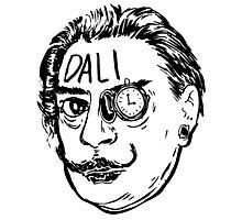 Salvador Dali's Time Photographic Print