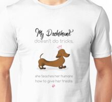 My Dachshund - Smooth Red (Pink) Unisex T-Shirt