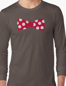 Red bow tie Long Sleeve T-Shirt