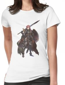 Anime Art Sword  Womens Fitted T-Shirt
