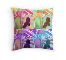 Diego Brando Pop Art 4x4 Throw Pillow