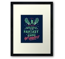 Get Ready! Framed Print