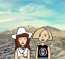 Thelma and Louise by Anna Iwanuch