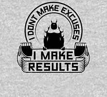 I Don't Make Excuses I Make Results Gym Fitness Unisex T-Shirt