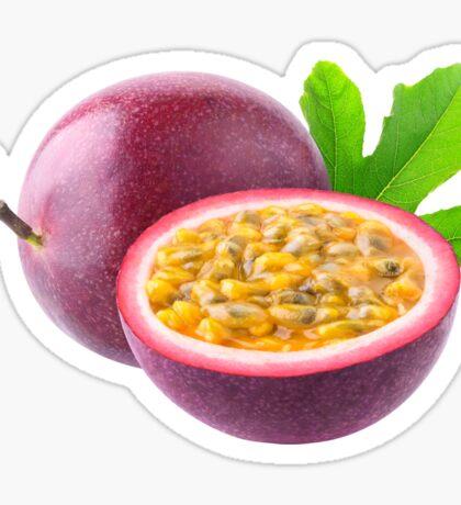 Cut passion fruits Sticker