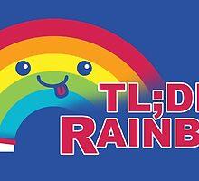 Didn't Read It Rainbow by vonplatypus