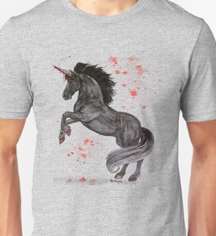 Evil Unicorn Unisex T-Shirt
