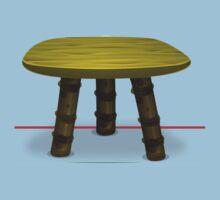 Glitch furniture chair firebog chair Baby Tee