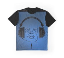'The Movement Of Music' Design Graphic T-Shirt