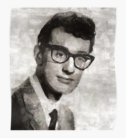Buddy Holly, Musician Poster