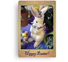 Time for the Easter Bunny Canvas Print