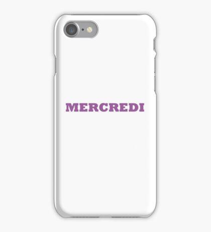 Mercredi iPhone Case/Skin