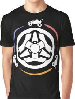 Rocket League Video Game Inspired Funny Gifts Graphic T-Shirt
