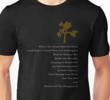 Joshua Tree Tracklist Unisex T-Shirt